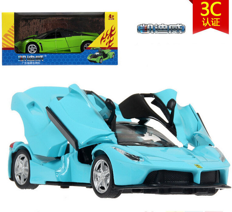 1:32 cady wei alloy models children toy boomerang sports car model car toys of high quality alloy car model of the boy's gift(China (Mainland))