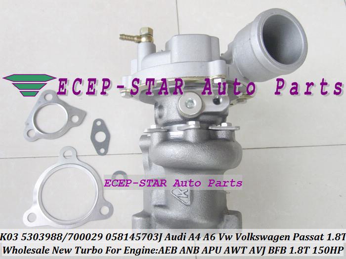 K03 29 53039880029 53039700029 058145703J Turbo For AUDI A4 A6 C5 For VOLKSWAGEN VW Passat B5 1 ...