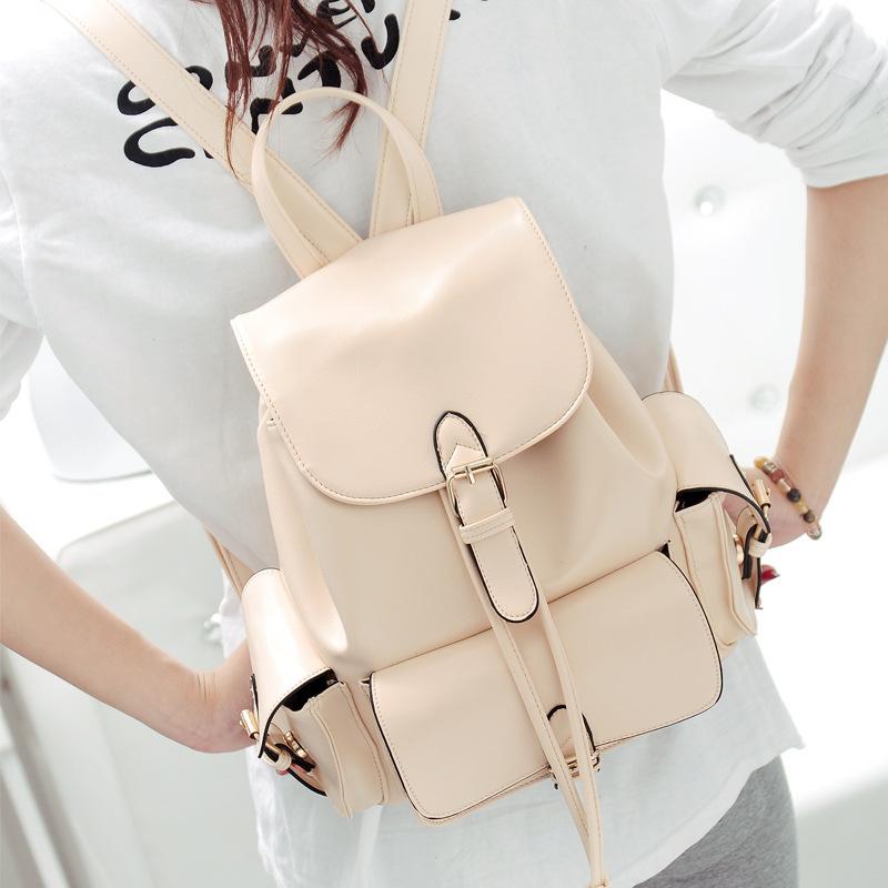 Модный рюкзак из кожи