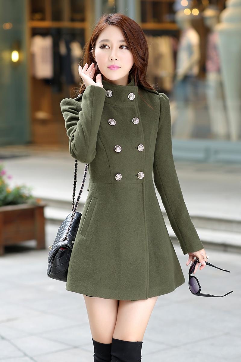 Long stylish coats for ladies catalog photo