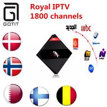 Buy H96 Pro+Android 6.0 TV BOX Amlogic S912 Octa core 3GB 32GB STB Sweden IPTV Scandinavian Europe Turkish Kurdish Arabic UK IPTV for $161.50 in AliExpress store