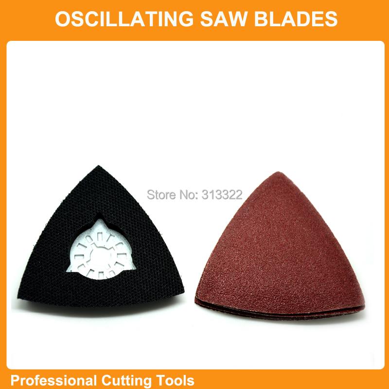 Гаджет  Promotion: 26pcs Sanding paper+Triangular sanding pad fits for Fein Dremel multifunction oscillating power multi tools None Инструменты