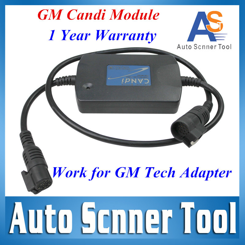 2015 A+ Quality G-m Tech2 G M TECH 2 CANDI Interface Module for G-M Tech2 Auto Diagnostic Connector Adaptor Free Shipping(China (Mainland))