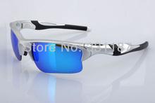 Designer sunglasses Eyewear Men's/Women's Brand Name Half Jacket 9 color frame Sports Bicyle Bike Sunglass + box Lens Polarized(China (Mainland))
