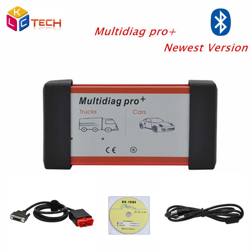 New Design CDP Two Board Multidiag Pro+Bluetooth 2014.R2/R3 for Cars/Trucks Auto OBD2 Diagnostic Scan Tool TCS CDP PLUS(China (Mainland))