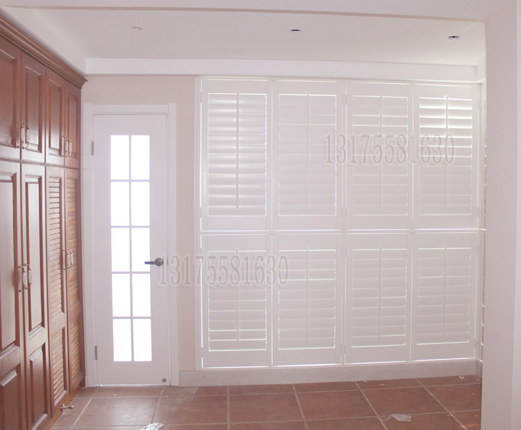 Solid wood solid window door wood shutters(China (Mainland))