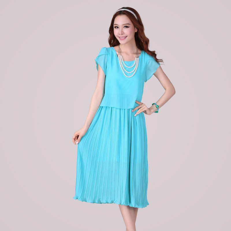 womens summer dresses 2015 Plus size women Clothing Short ...