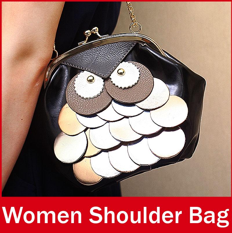 2015 New Design Ladies Women Mini Cute Owl Messenger Bag Hasp Casual Crossbody Shoulder Bag For Female Girl
