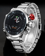 2016 New Men's Military Sport Watches Quartz Clock Man Waterproof Wrist Watch Mens Top Brand Luxury LED Digital Watch