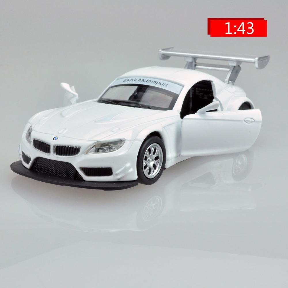 1:43 Scale Models Sports Car Z4 Kinsmart Model Cars Toy Alloy Diecast Pull Back Car Convertible Car Brinquedo Educational Toy(China (Mainland))