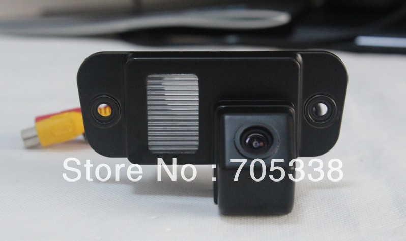 Free shipping--High resolution! CCD effect !special car camera forSsangyong Actyon ,water proof ,170 degree(China (Mainland))