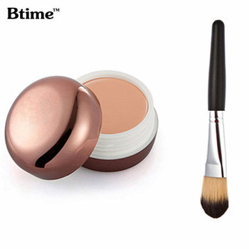 Btime Brand New Beauty Face Cream Concealer Palette And Foundation  Makeup Brushes Make Up Set