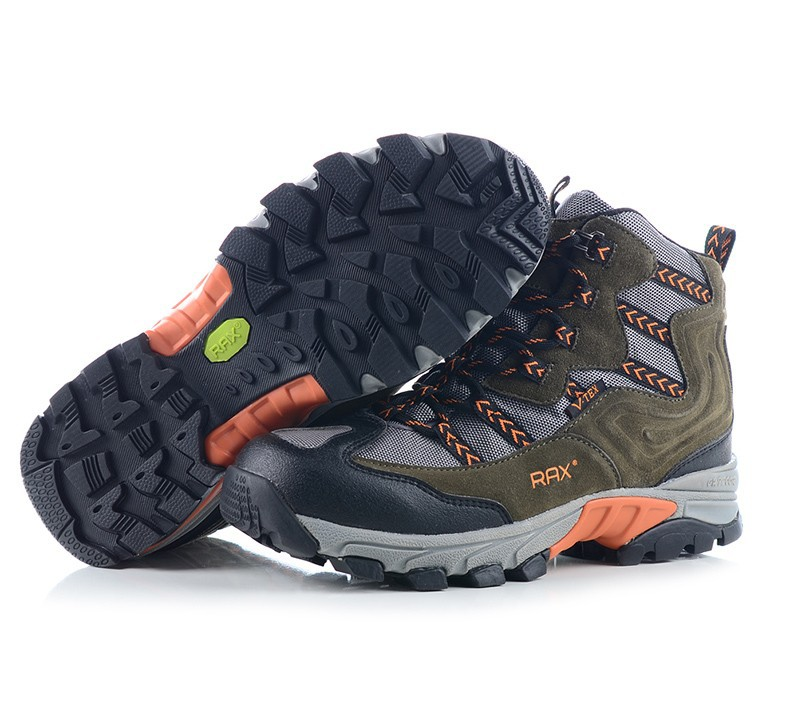 RAX Waterproof Lightweight Breathable Hiking Shoes Boots Men Trekking