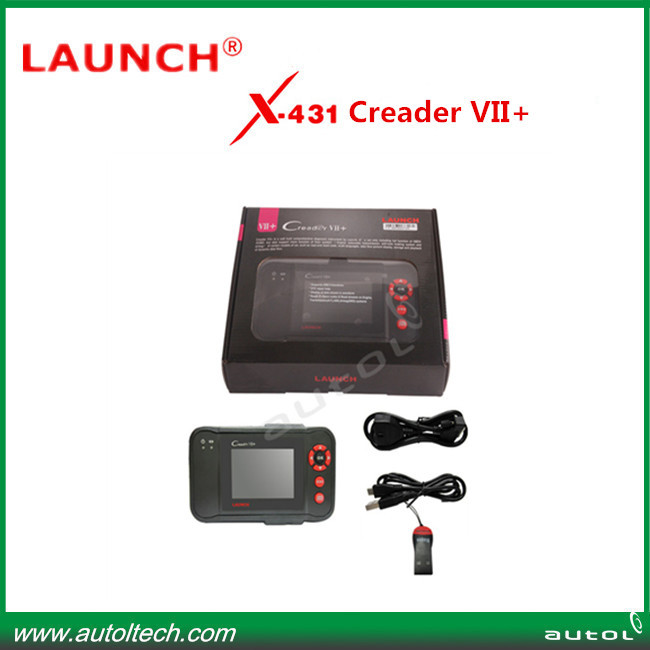 100% Original Launch Creader VII+ same function with CRP 123 with Multi-brand cars and high quality(China (Mainland))