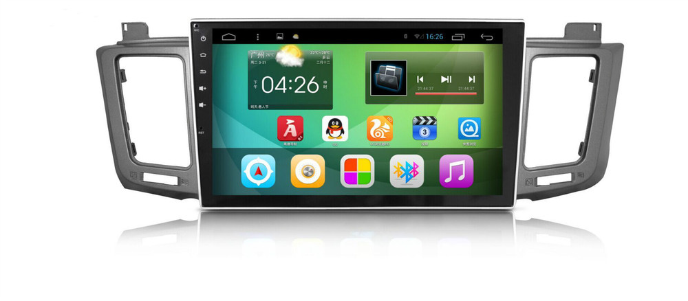 For 1024*600 android Toyota RAV4 2014 Car DVD player GPS with Built-in WiFi/GPS Navi/FM/AM Radio/Bluetooth/Multimedia/USB/SD/AUX(China (Mainland))