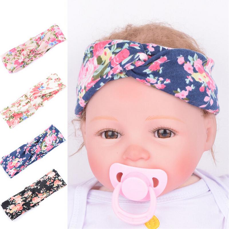 girl flower Rabbit Ear Shaped headband hairband aksesuar infant fashion comfort soft headwrap Gift(China (Mainland))