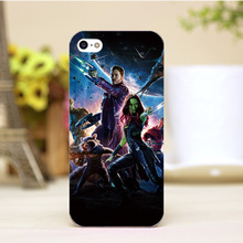 PZ0004-54-1 For Guardians of the Galaxy cartoon Design cellphone cases For iphone 4 5 5c 5s 6 6plus Hard Lucency Skin Case Cover