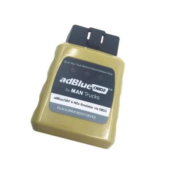 High Quality AdblueOBD2 Emulator for MAN Trucks Plug and Drive Ready Device by OBD2 Heavy Duty Diagnose for MAN(China (Mainland))