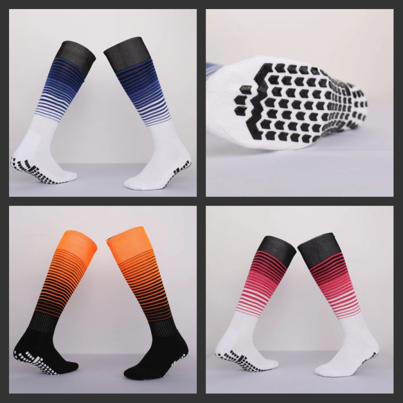 Top quality men futbol soccer socks new cycling hiking training long socks men's football breathable Bottom towel long socks(China (Mainland))
