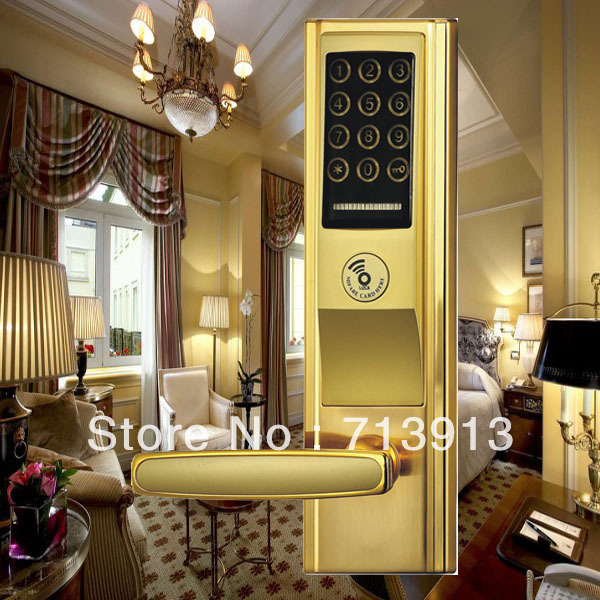 Digital  touch screen password door lock    ET821pw<br>