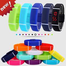 2016 Upgrade Section Waterproof LED Bracelet Children Women Watch Men Digital Wristwatch Sports Shock Fashion Clock