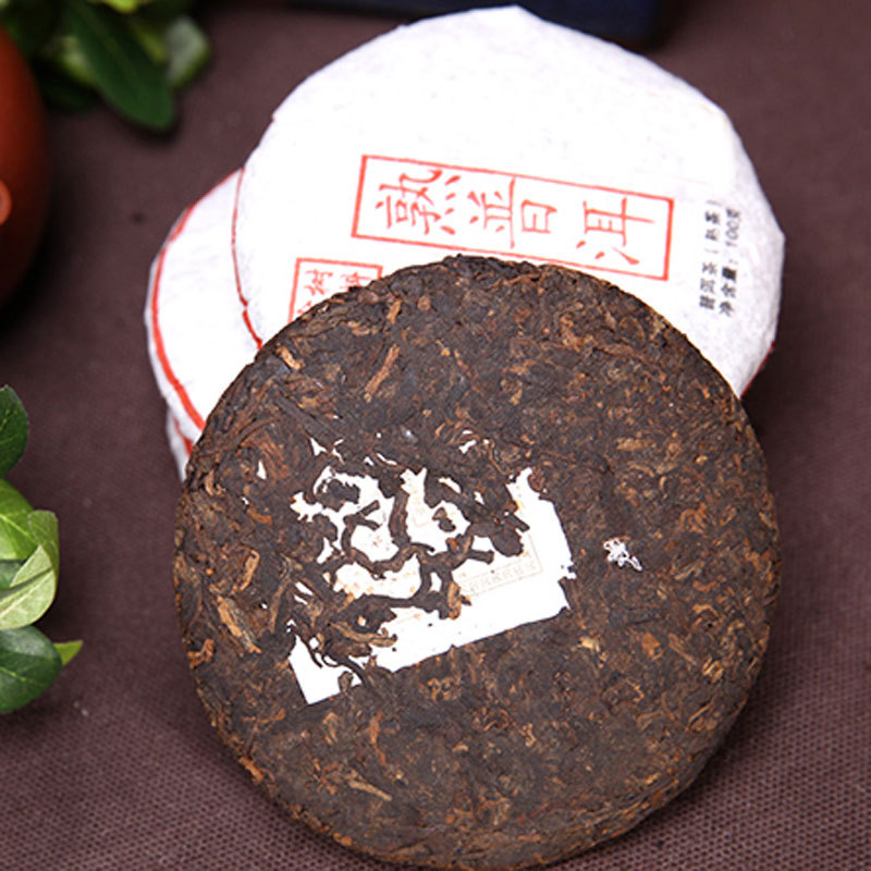 Do Promotion 100g China ripe puer tea puerh the Chinese tea yunnan puerh tea pu er