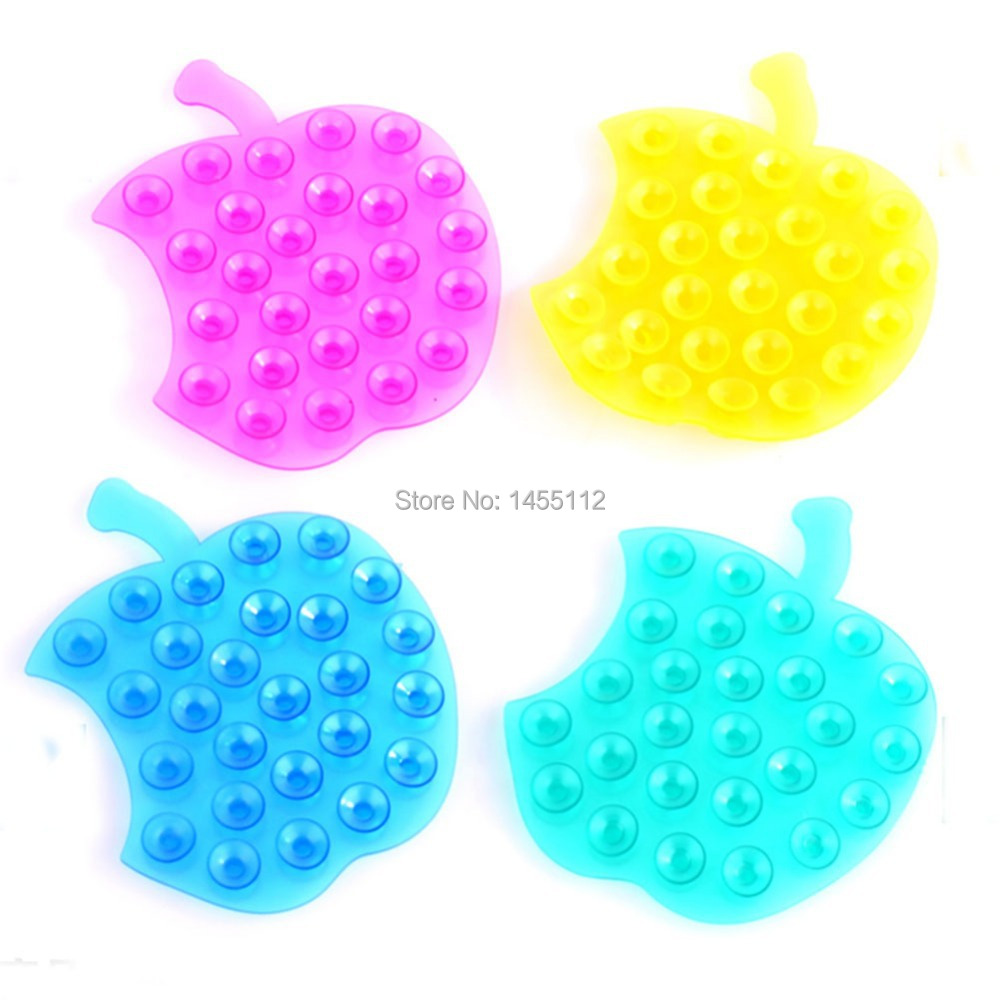 10pcs/lot New Strong Double Sided Suction Palm PVC Suction Cup Double Magic Plastic Sucker Bathroom Free Shipping(China (Mainland))