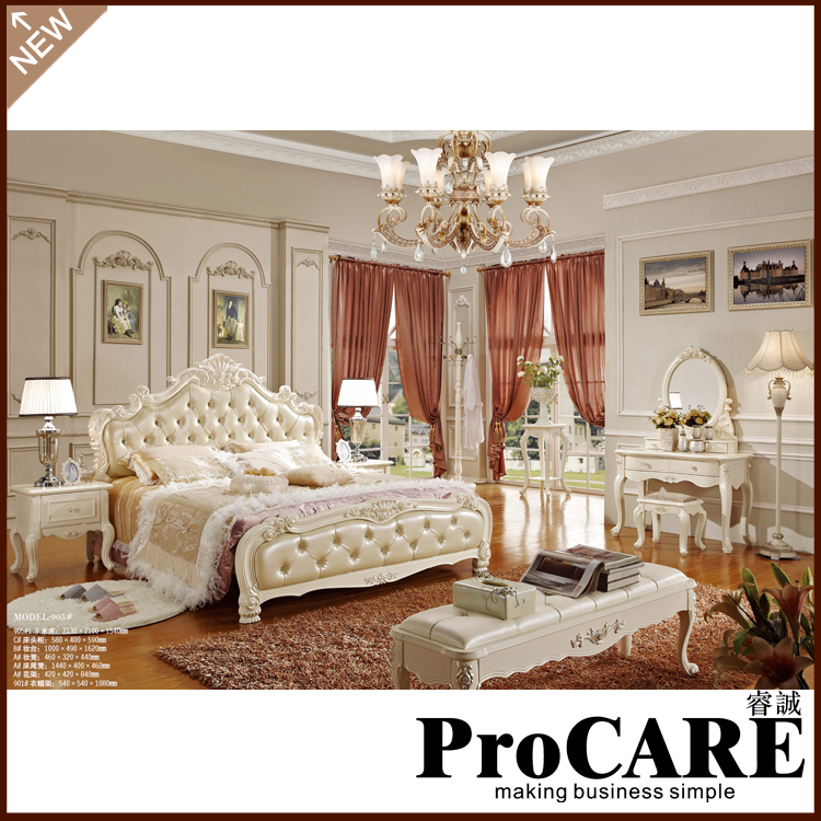 French Style Doble Bed Two Sizes Of Corium Bed For. Cheap French Style Bedroom Furniture