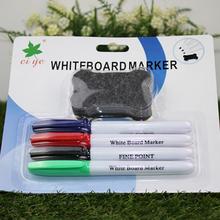 Горячая распродажа Ciye офисная белая доска маркер 4 цветов с доска ластик маркер для белой доски высоко обратная связь