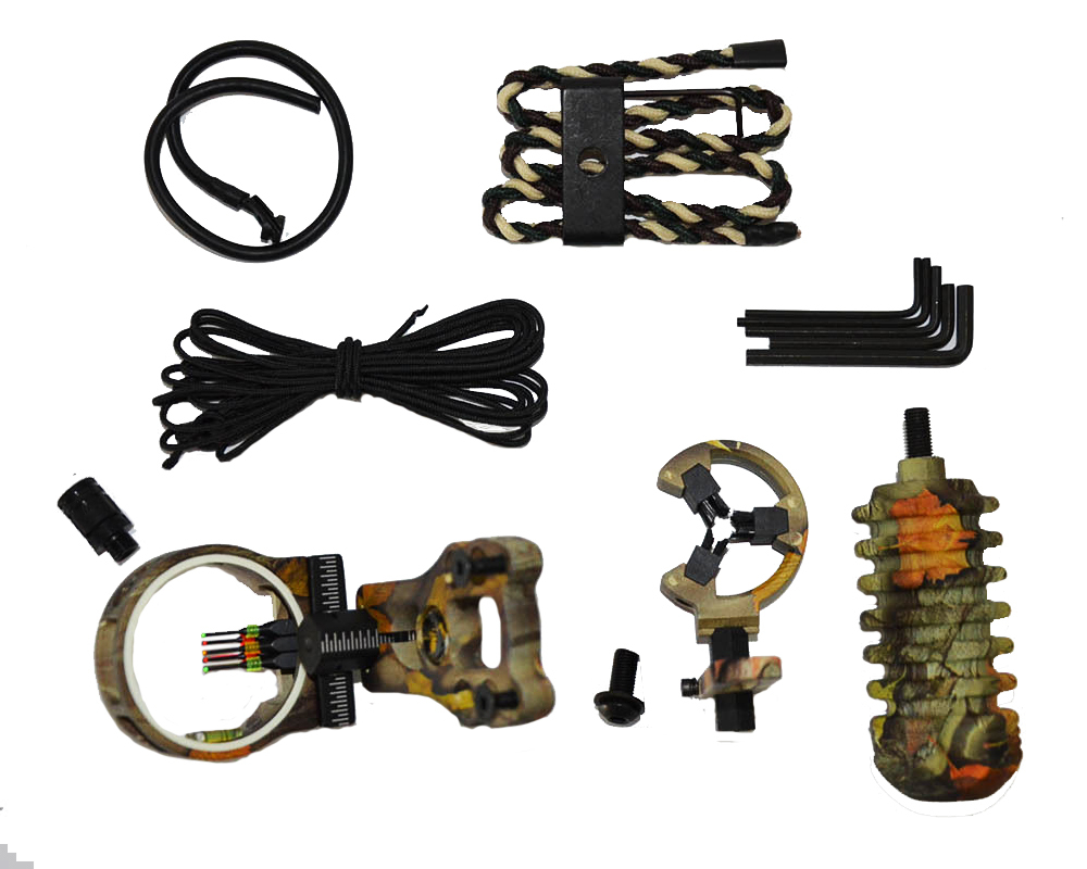 Camouflage archery upgrade TP1000 combo bow sight kits arrow rest stabilizer Compound Bow Accessories for Compound