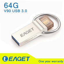 EAGET V90 USB 3.0 100% 64GB G Smart Phone Tablet PC USB Flash Drives OTG external storage micro 64g pen drive memory stick