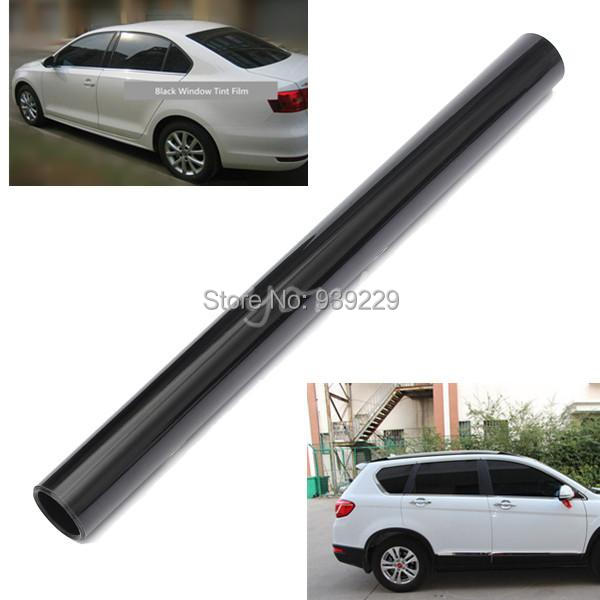 50cm x 600cm Black Window Tint Film Glass 15% Roll 2 PLY Car Auto House Commercial Free Shipping<br><br>Aliexpress
