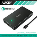 AUKEY Quick Charge 2 0 20000mAh Power Bank with LED Light Portable External Battery Pack Charger
