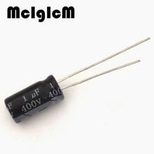 Buy D0052 free 50pcs Aluminum electrolytic capacitor 1uf 400v 6*12 Electrolytic capacitor for $2.29 in AliExpress store
