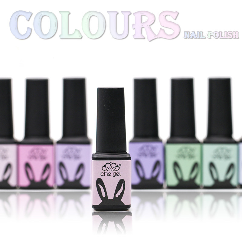 Formaldehyde free 6 colors UV LED Nail Gel Polish Soak Off Varnish Manicure Glitter nails gel shimmer gel nails decoration tools(China (Mainland))
