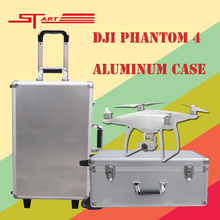 2016 DJI Phantom 4 Case Drone with Gimbal Protector Aluminum Box Easy to Carry for DJI Phantom 4 FPV Parts Gift Free Shipping