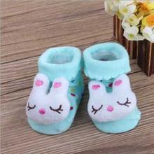 30 Colors Cartoons Anti Slip Lovely Cute Child Infant Toddler Baby Socks Boy Girl Unisex Boots