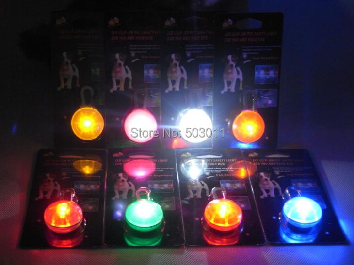 200 pcs ,Waterproof pet safety light ,led dog blinker light, light collar tag,free shipping(Hong Kong)