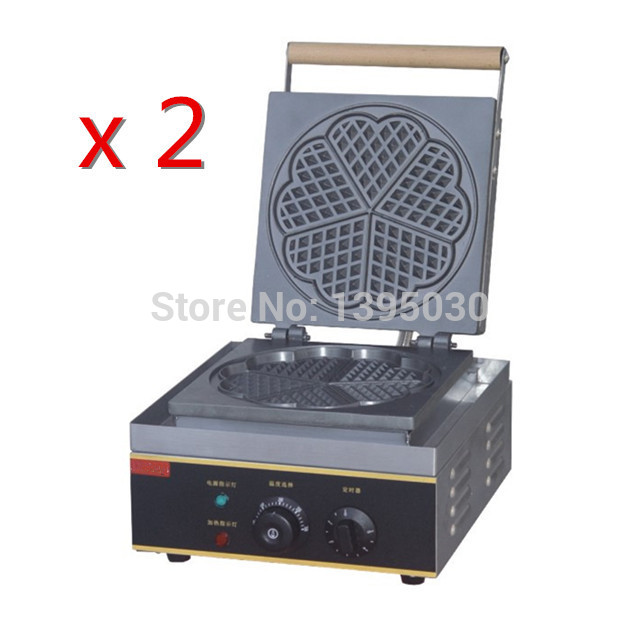 2PCS/Lot Free Shipping By DHL FY-215 Electric Waffle Maker Heart Shape Mould Plaid Cake Furnace Sconced Machine Heating Machine<br><br>Aliexpress