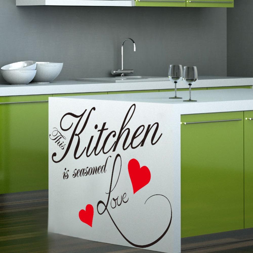 Achetez en gros word kitchen sticker en ligne à des grossistes ...
