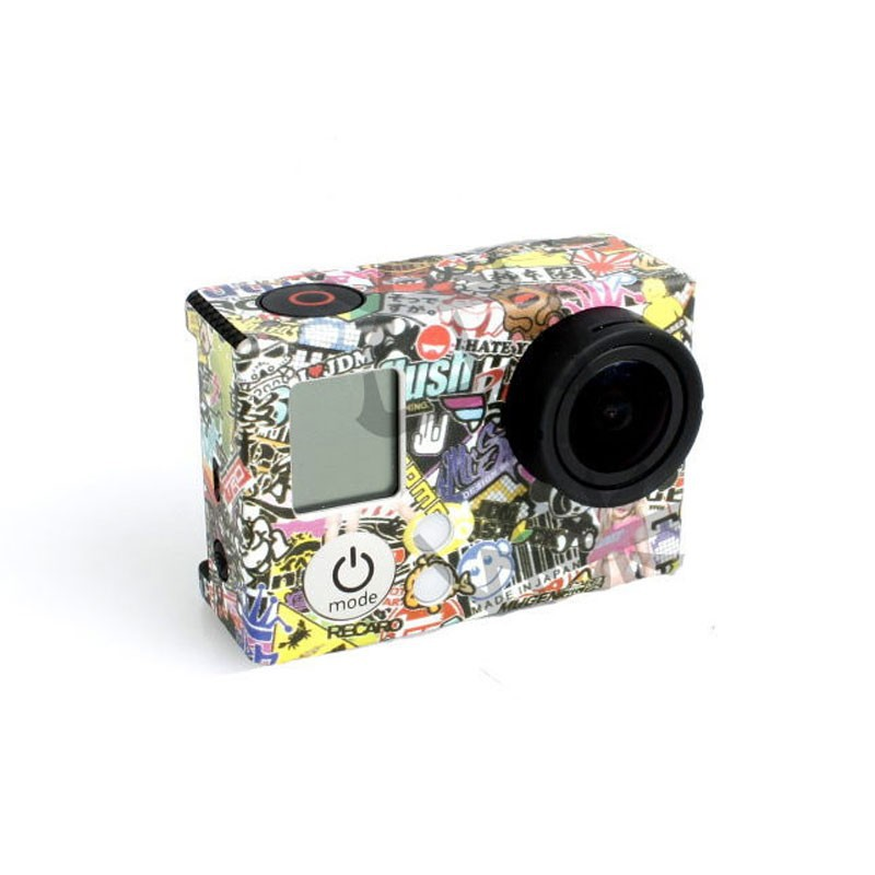image for Gopro Kaleidoscope Paster Adhesive Bag Skin Sticker Mount For Go Pro H