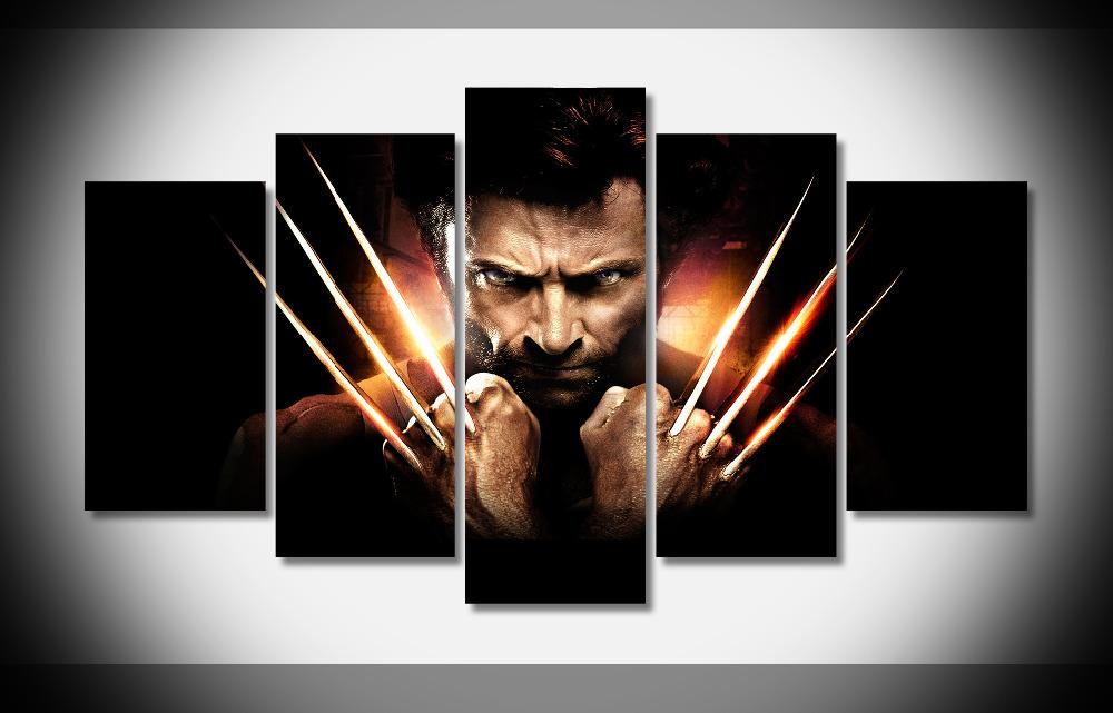 2727 X Men Origins Wolverine Movie Poster Print On Canvas