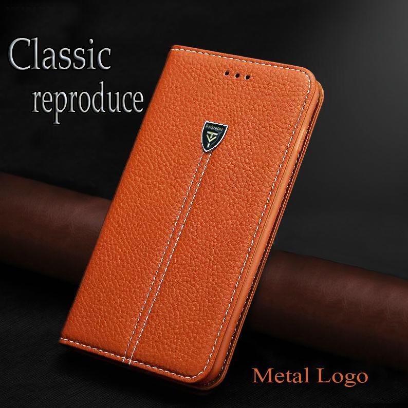 Hot Fashion Luxury Litchi grain high quality creative Metal LOGO efor BlackBerry Q10 flip leather Mobile phone back cover case(China (Mainland))