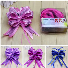 10Pcs/lot Pull Flower Ribbon Bow 5*108CM