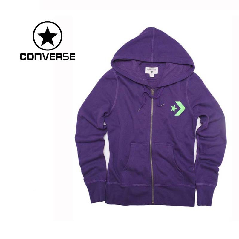 100% Original New  Converse womens jacket C411W228512 Hoodie sportswear free shipping<br><br>Aliexpress