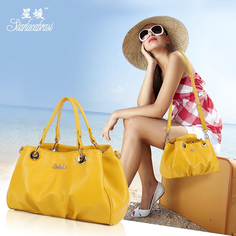 Summer totes 2016 smiley bag casual women one shoulder cross-body handbag pu leather handbags messenger hobos bags<br><br>Aliexpress