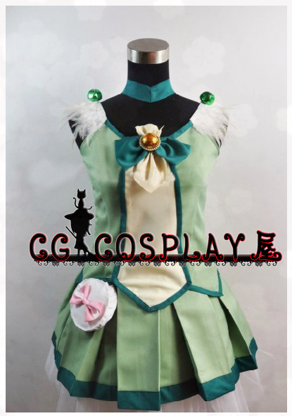 Free Shipping Cosplay Costume Suite PreCure Midorikawa Nao New in Stock Retail / Wholesale Halloween Christmas Party UniformОдежда и ак�е��уары<br><br><br>Aliexpress