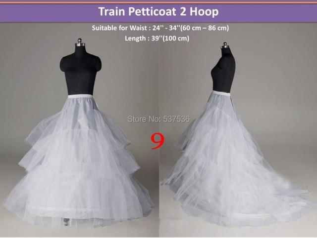 Белый 2 хооп поезд нижняя юбка в наличии кринолин юбки промахи бесплатная доставка ...