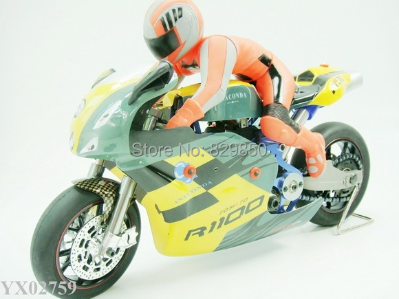 Newest 1:5 scale RC motorcycle 15CC nitro gas radio remote control motorcycle fast speed toys(China (Mainland))