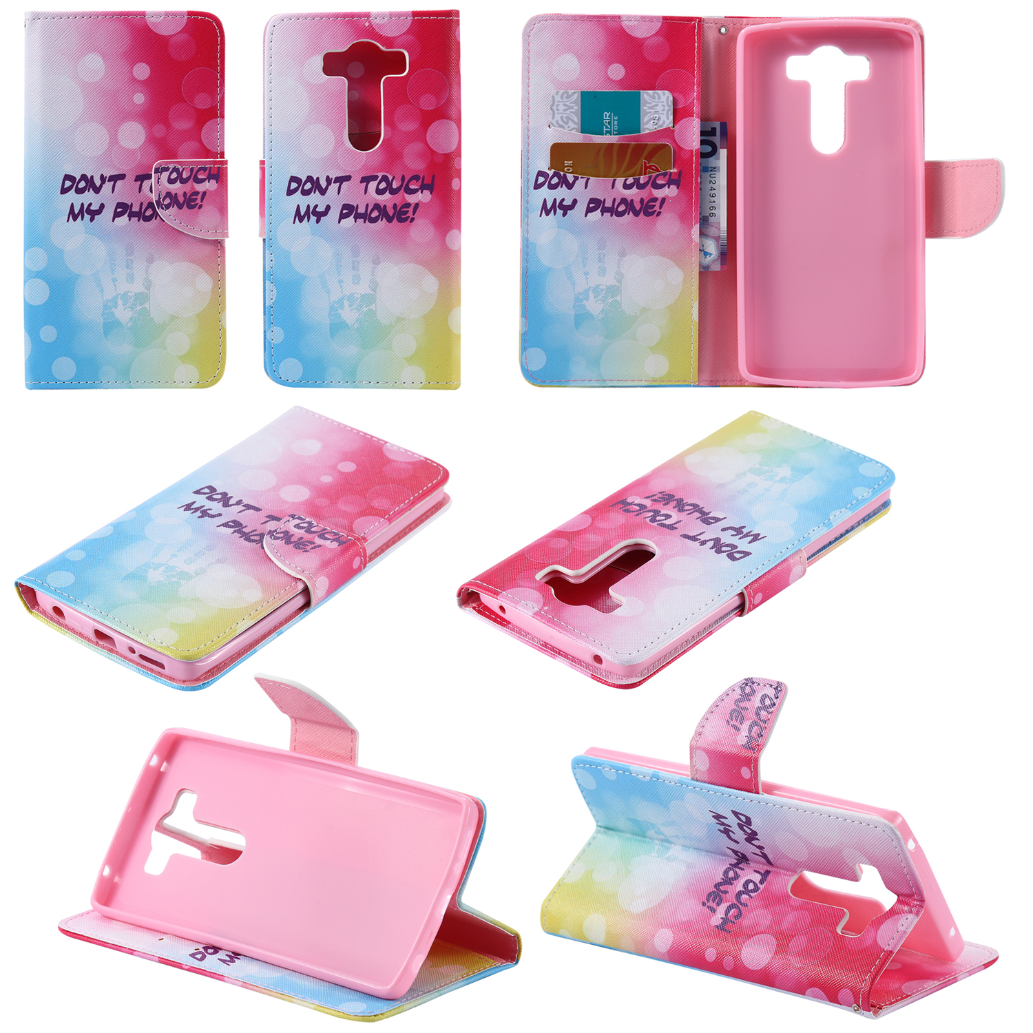 Built Silicone Base Leather Cover Case for LG V10 F600 H968 Coque Flip Wallet Card Holder Stand Protection Mobile Phone(China (Mainland))